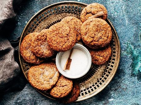 Лесни коледни сладки с орехи и аромат на ром - снимка на рецептата